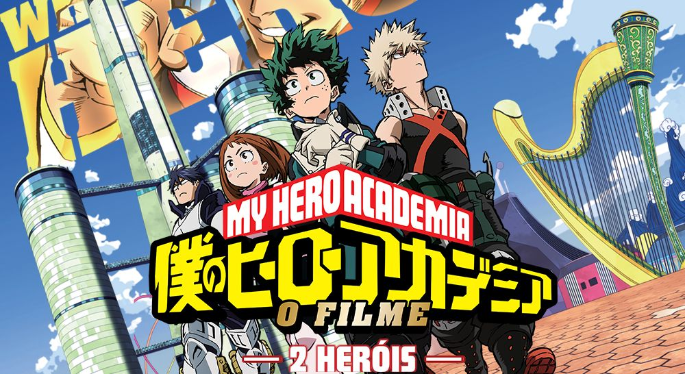 Boku no Hero Academia: 2 Heróis