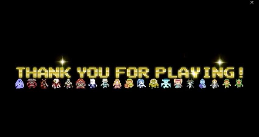 obrigado por jogar