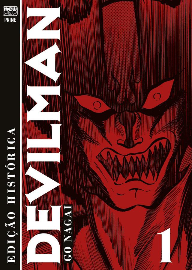 capa do primeiro volume de Devilman