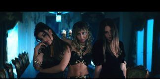 Ariana Grande, Miley Cyrus e Lana Del Rey as panteras