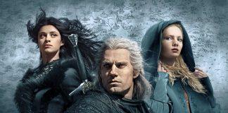 The Witcher, com Geralt, Ciri e Yennefer