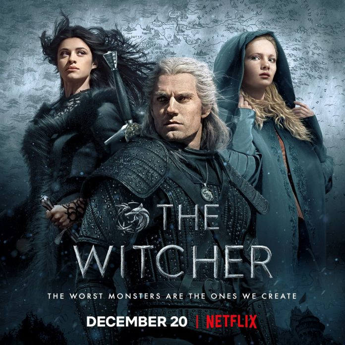 The Witcher, com Geralt, Ciri e Yennefer