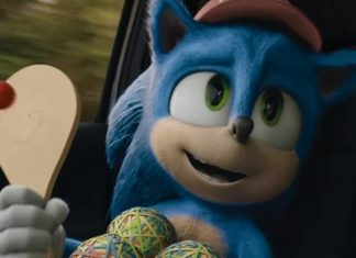 Sonic de novo visual; filme estará na ccxp19