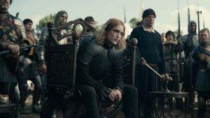 Robert Pattinson como herdeiro do trono francês