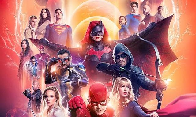 Crossover de heróis da DC