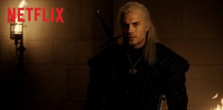 the witcher, com henry cavill